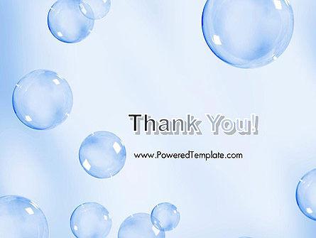 Water Bubbles PowerPoint Template Slide 20