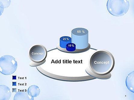 Water Bubbles PowerPoint Template Slide 6