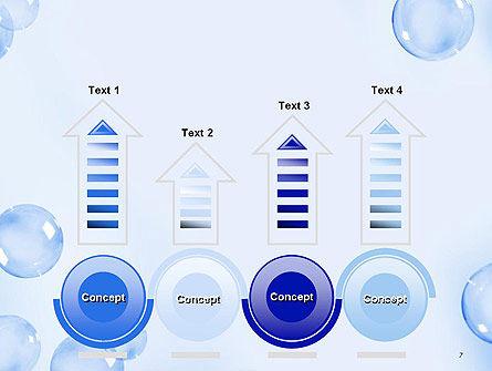 Water Bubbles PowerPoint Template Slide 7