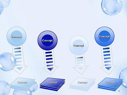 Water Bubbles PowerPoint Template Slide 8