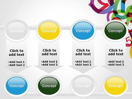 Numbers Background PowerPoint Template Slide 18