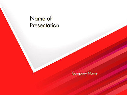 Right Angle Abstract PowerPoint Template