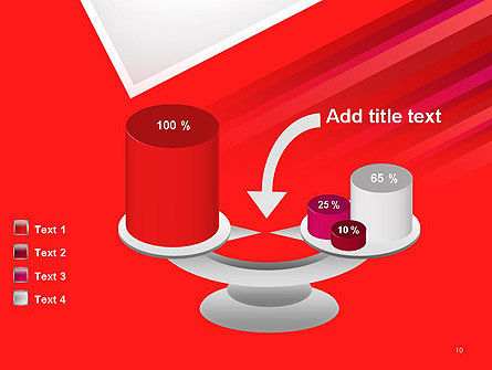 Right Angle Abstract PowerPoint Template Slide 10
