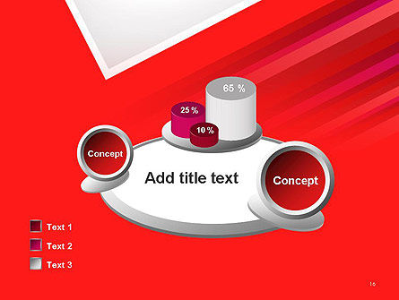 Right Angle Abstract PowerPoint Template Slide 16