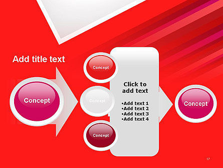 Right Angle Abstract PowerPoint Template Slide 17