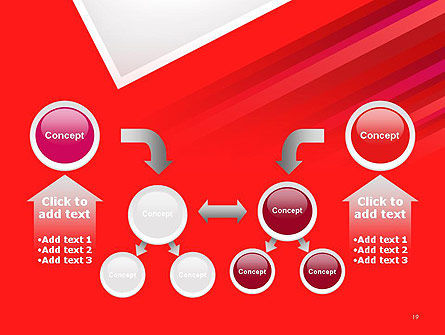 Right Angle Abstract PowerPoint Template Slide 19