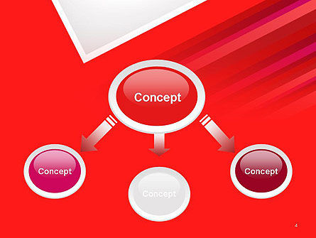 Right Angle Abstract PowerPoint Template Slide 4