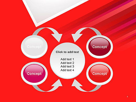 Right Angle Abstract PowerPoint Template Slide 6