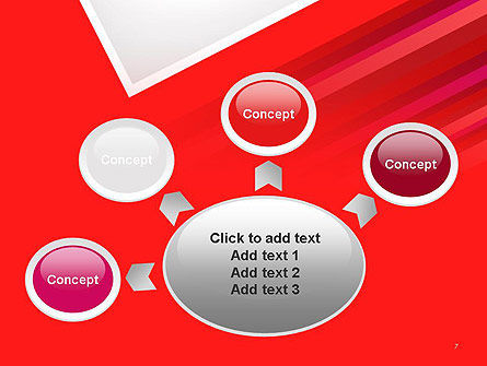 Right Angle Abstract PowerPoint Template Slide 7