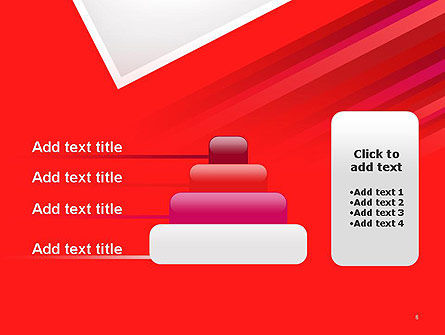 Right Angle Abstract PowerPoint Template Slide 8
