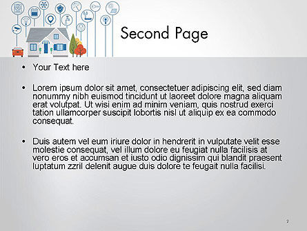 Smart House PowerPoint Template, Slide 2, 14243, Technology and Science — PoweredTemplate.com