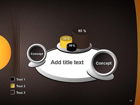 Textured Brown Background PowerPoint Template Slide 16
