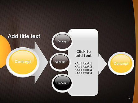 Textured Brown Background PowerPoint Template Slide 17