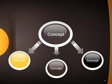 Textured Brown Background PowerPoint Template Slide 4