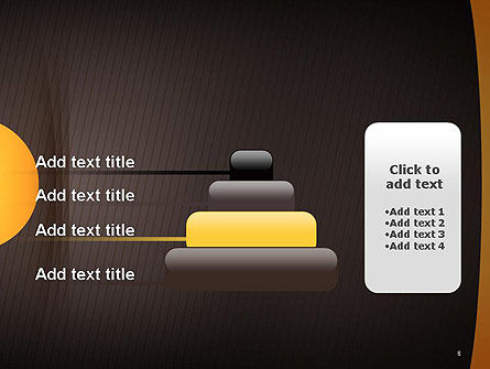 Textured Brown Background PowerPoint Template Slide 8