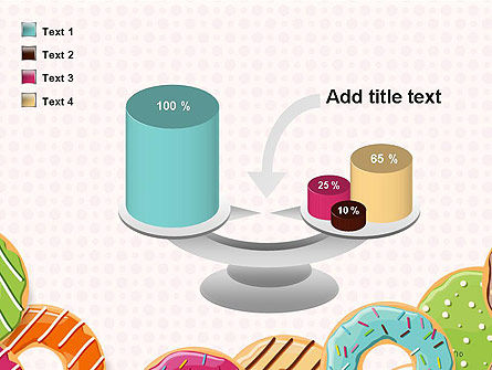 Colorful Donuts PowerPoint Template Slide 10