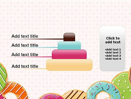 Colorful Donuts PowerPoint Template Slide 8