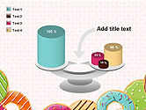 Colorful Donuts PowerPoint Template#10