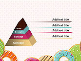 Colorful Donuts PowerPoint Template#12