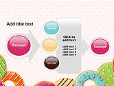 Colorful Donuts PowerPoint Template#17