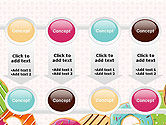 Colorful Donuts PowerPoint Template#18