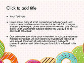Colorful Donuts PowerPoint Template#2