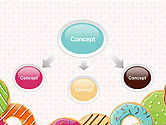 Colorful Donuts PowerPoint Template#4