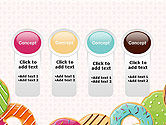 Colorful Donuts PowerPoint Template#5