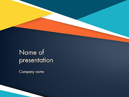 Abstract/Textures: Geometric Shapes Abstract PowerPoint Template #14248