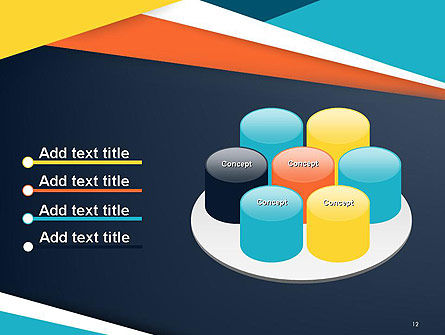 Geometric Shapes Abstract PowerPoint Template Slide 12