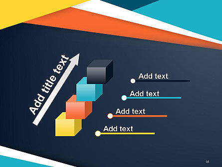 Geometric Shapes Abstract PowerPoint Template Slide 14
