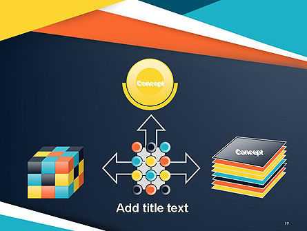 Geometric Shapes Abstract PowerPoint Template Slide 19
