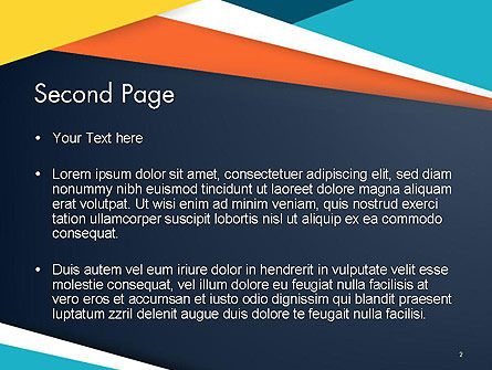 Geometric Shapes Abstract PowerPoint Template Slide 2