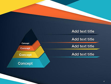 Geometric Shapes Abstract PowerPoint Template Slide 4