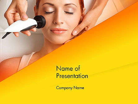 Radio Frequency Treatment PowerPoint Template, 14249, General — PoweredTemplate.com