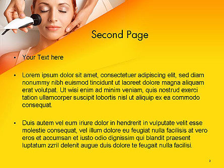 Radio Frequency Treatment PowerPoint Template, Slide 2, 14249, General — PoweredTemplate.com