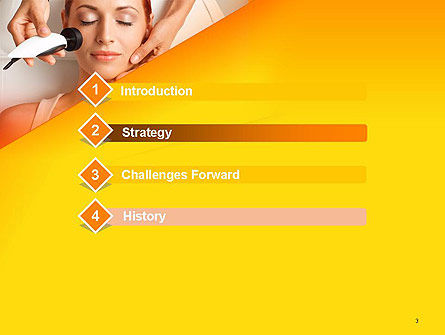 Radio Frequency Treatment PowerPoint Template, Slide 3, 14249, General — PoweredTemplate.com