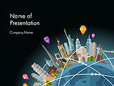 Careers/Industry: World Travel PowerPoint Template #14254