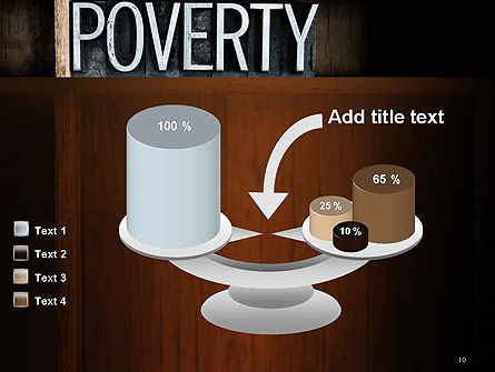 Word Poverty PowerPoint Template Slide 10