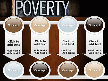 Word Poverty PowerPoint Template Slide 18