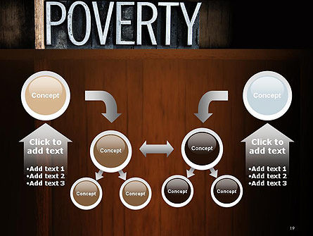 Word Poverty PowerPoint Template Slide 19