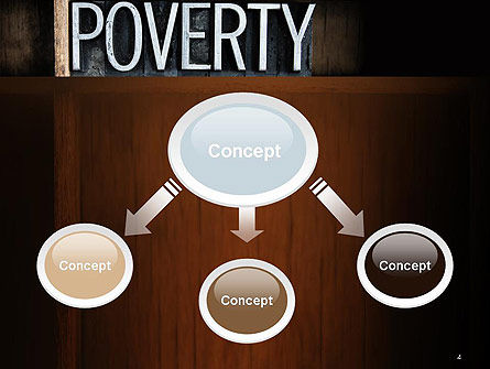 Word Poverty PowerPoint Template Slide 4