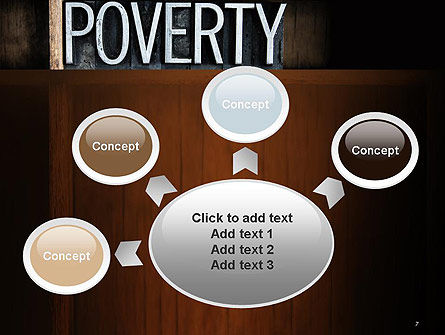 Word Poverty PowerPoint Template Slide 7