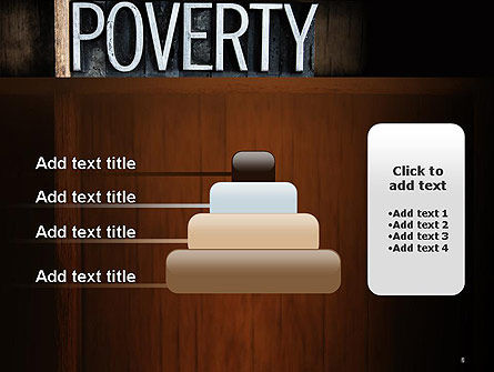 Word Poverty PowerPoint Template Slide 8