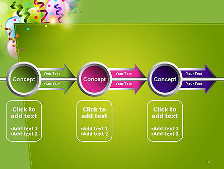 Happy Birthday Background PowerPoint Template Slide 11
