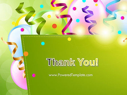 Happy Birthday Background PowerPoint Template Slide 20