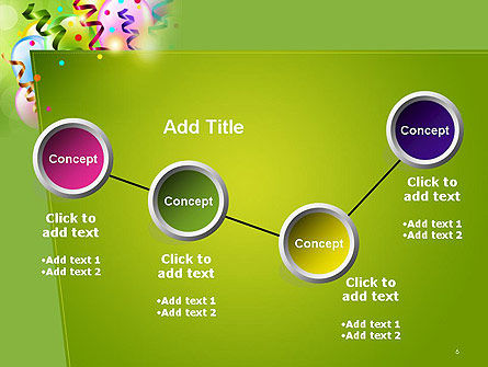 Happy Birthday Background PowerPoint Template Slide 6