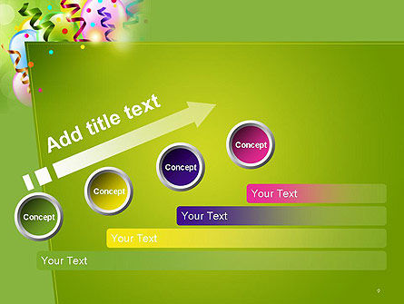 Happy Birthday Background PowerPoint Template Slide 9