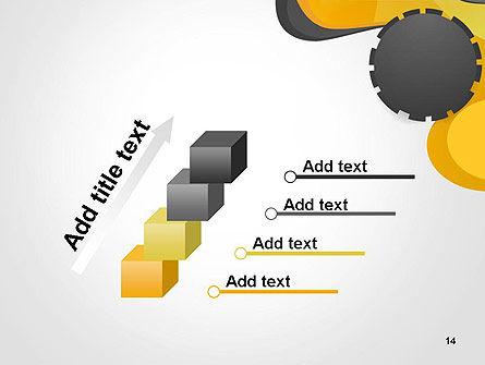 Cogwheel Concept PowerPoint Template Slide 14