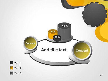 Cogwheel Concept PowerPoint Template Slide 6
